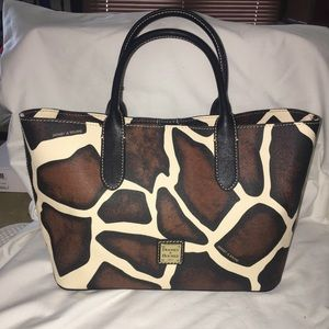 Dooney & Bourke Brielle Giraffe Bag Purse